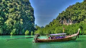 Wallpaper Thailand, sea, mountains ...