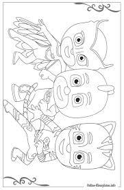 25 Ontwerp Pj Masks Kleurplaat Mandala Kleurplaat Voor Kinderen