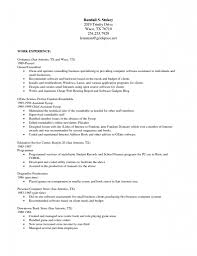 Resume Template Libreoffice Resume For Study