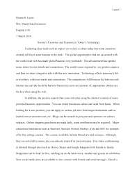 Compare Contrast Essay Final