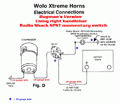 horn relay simple wiring within horn wiring diagram with relay dual horn relay wiring diagram at Horn Wiring Diagram With Relay