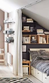 cozy little attic bedroom suitable for a teenager