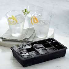 Decorative Ice Cube Trays Perfect Cube Ice Cube Tray Set of 100 Williams Sonoma 76