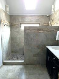 walk in shower sizes best showers without doors ideas on half glass designs