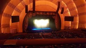 Radio City Music Hall Section 2nd Mezzanine 6 Row A Seat 604