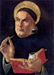 philosophy of law com st thomas aquinas painting attributed to sandro botticelli 15th century