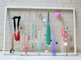 Bracelet Organizer Ideas Diy Jewelry Organizer Wall