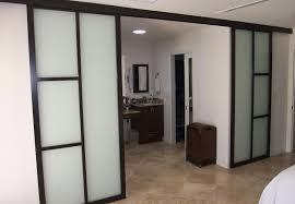 sliding barn doors glass. Suspended Barn Doors Sliding Glass