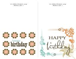 Birthday Cards Free Download Printable Card Invitation Design Ideas Fantastic Free Printable Folding 1