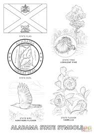 Small Picture Alabama State Symbols coloring page Free Printable Coloring Pages