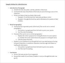 book outline example okl mindsprout co book outline example
