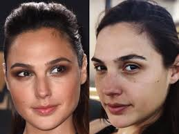 it s almost unfair that gal gadot looks just as beautiful with no makeup as she does with it that means she really is a wonder woman and yes we re sorry