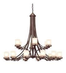 18 light chandelier inch bronze ceiling starburst