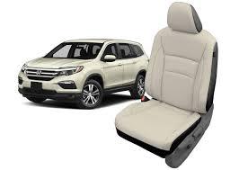 honda pilot katzkin leather seat cover