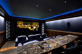 gorgeous surround sound speaker stands in home theater traditional with simple ceiling next to crown molding
