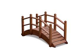 afk hand crafted wooden garden oriental bridge