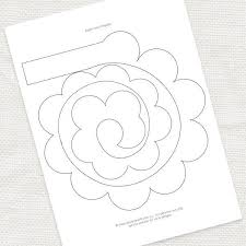 Free Paper Flower Templates Printable Pin By Ruby Blu Marketing On Cricut Paper Flowers Paper Free Paper