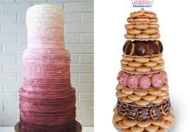 7 Nontraditional Wedding Cake Ideas For The Creative Couple Photos