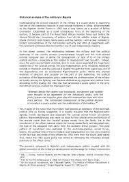 ia position paper on the military 3 4