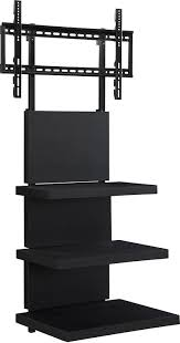 Tv Stand Black Amazoncom Ameriwood Home Elevation Tv Stand For Tvs 60 Wide