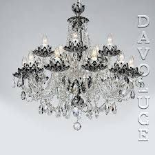 black and crystal chandelier crystal chandeliers in wide delivery crystal chandeliers for restaurants hotels black crystal