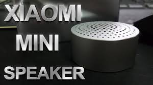 Xiaomi <b>Mini</b> Speaker - Обзор новой <b>колонки Xiaomi</b> - YouTube