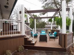 backyard decks patios and pergolas diy
