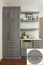 chelsea gray cabinets. Perfect Chelsea 10 Timeless Grays For The KitchenBenjamin Moore Chelsea Gray Designer  Fiddlehead Design Group Throughout Gray Cabinets Pinterest