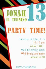 Birthday Invitation Layouts Birthdaybuzz