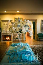 beautiful blooms mk photo jasna polana princeton nj bat mitzvah tall centerpiece aqua white silver