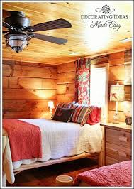 log cabin interior design see a guest bedroom makeover cabin