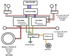 crossover wiring diagram car audio viewki me Car Audio System Wiring Diagram crossover wiring diagram car audio