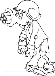 Plants Vs Zombies Coloring Pages All Zombie Free Caseyconnellyme
