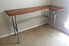 pipe corner desk