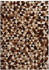 New Item <b>Rug Genuine Leather Patchwork</b> 160x230 cm: Amazon.co ...