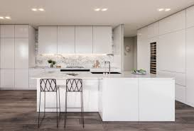 White Kitchen Dark Wood Floors 30 Modern White Kitchens That Exemplify Refinement