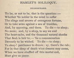 hamlet this soliloquy is arguably the most famous of all it  hamlet this soliloquy is arguably the most famous of all it finds hamlet deeply