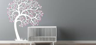nursery wall baby nursery tree wall decal nursery wall decals nz