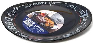 Купить <b>Тарелка для стейка Luminarc</b> Friends Time Black, 30 см с ...