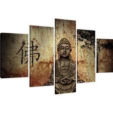 buddha multi piece image graphic art print on canvas on spiritual wall art uk with spiritual religious wall art wayfair uk