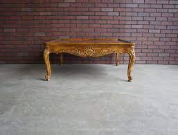 coffee table french provincial cocktail