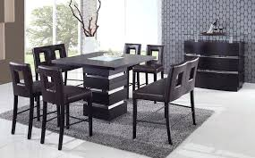 modern counter height table. Glass Counter Height Dining Set Modern Table Bar Designs Cozy 8 Top . B