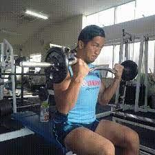 アーム カール 重量