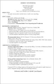 Psychology Resume Example Template Sample School Clinical Templates ...