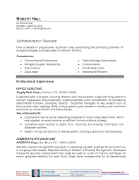 administrative assistant resume examples resume examples  example executive assistant careerperfect com chronological resume sample administrative