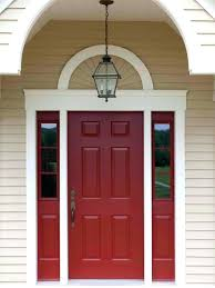 what color should i paint my front doorFront Doors  What Color Should I Paint My Front Door On A Red