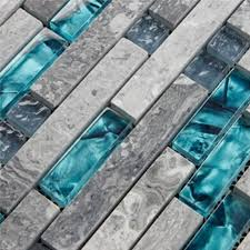glass tiles for bathroom walls. gray marble backsplash tiles sea glass blue wave patterns natural stone bathroom wall mosaic for walls