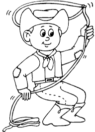 Small Picture Cowboy Coloring Pages 17 Coloring Kids