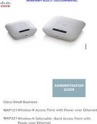 Cisco Wap321 Red Power Light Wap121 Wireless N Access Point With Power Over Ethernet User