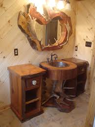 Wood Vanity Bathroom Bathroom Unique Wood Distressed Bathroom Vanity For Double Sinks